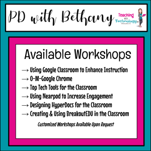 PD with Bethany