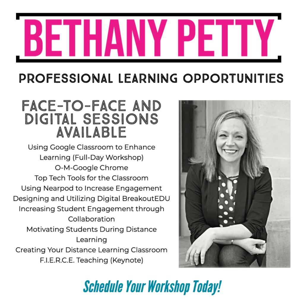 Schedule a Workshop, Keynote, or Seminar!